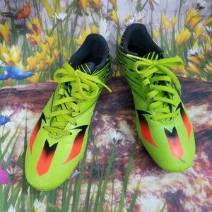 Adidas Men's Soccer Cleats size 9 / Green,Orange